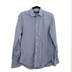 Rag & Bone Men's Long Sleeve Plaid Dress Shirt